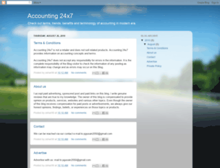 accounting24x7.blogspot.com screenshot