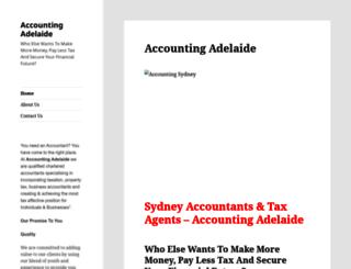 accountingadelaide.com screenshot
