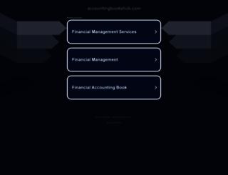 accountingbookshub.com screenshot