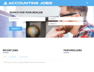 accountingjobs.com.au screenshot