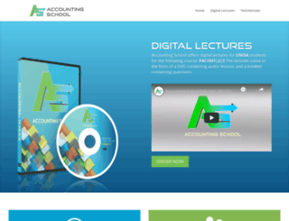 accountingschool.co.za screenshot