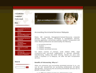 accountingsecretarialservicesmalaysia.com screenshot
