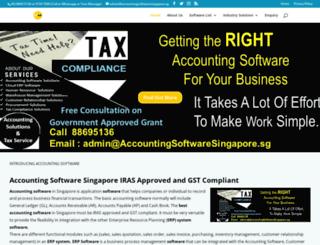 accountingsoftwaresingapore.sg screenshot