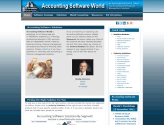 accountingsoftwareworld.com screenshot