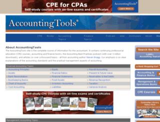 accountingtools1.squarespace.com screenshot