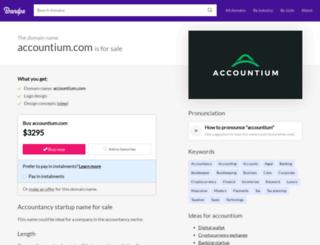accountium.com screenshot