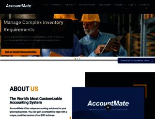 accountmate.com screenshot