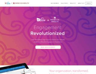 accounts-social.redbrickhealth.com screenshot