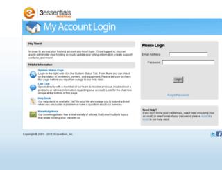 accounts.3essentials.com screenshot