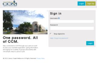 accounts.calvaryccm.com screenshot