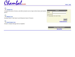 accounts.chambal.com screenshot