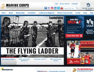 accounts.mca-marines.org screenshot