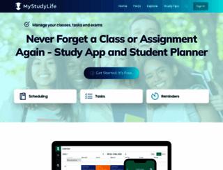 accounts.mystudylife.com screenshot