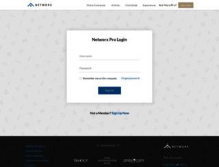accounts.networx.com screenshot