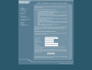 accounts.plit.dk screenshot