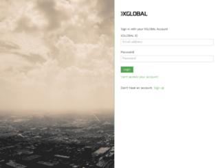 accounts.xglobalmarkets.com screenshot