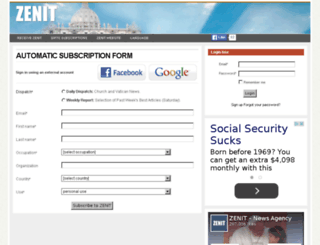 accounts.zenit.org screenshot