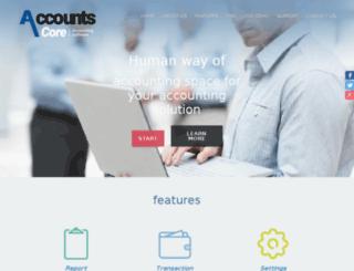 accountscore.in screenshot
