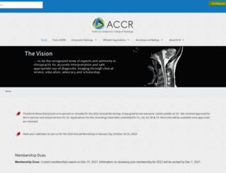 accr.org screenshot