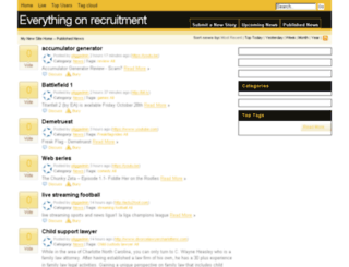 accrecruit.info screenshot