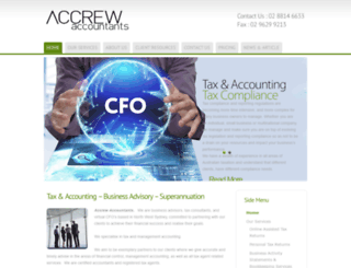 accrew.com.au screenshot
