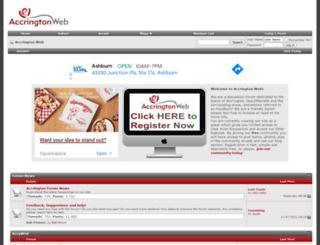 accringtonweb.com screenshot