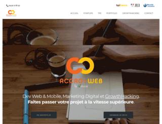 accro-web.com screenshot