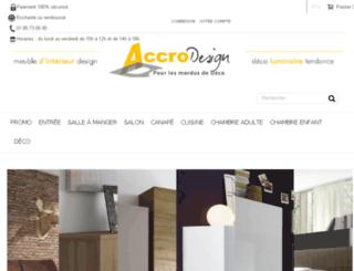 accrodesign.com screenshot