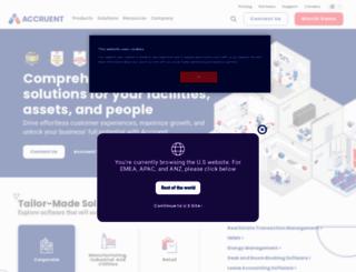 accruent.com screenshot