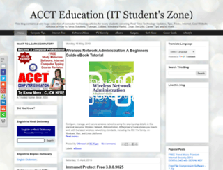 accteducation.blogspot.com screenshot