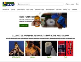 accu-cast.us screenshot