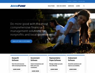 accufund.com screenshot