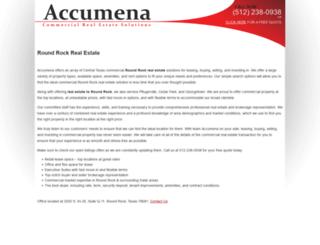 accumena.com screenshot