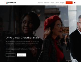 accuracast.com screenshot
