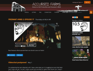 accursedfarms.com screenshot