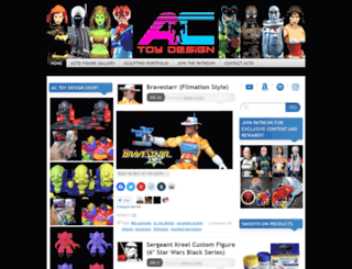 accustomfigures.com screenshot