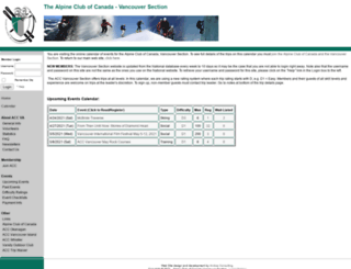 accvancouver.org screenshot
