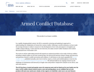 acd.iiss.org screenshot