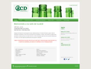 acdcastellarvidrio.es screenshot