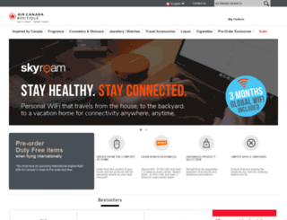 acdutyfree.com screenshot