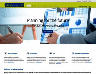 ace-accounting.co.uk screenshot