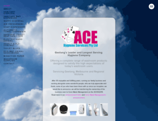 ace-hygiene.squarespace.com screenshot