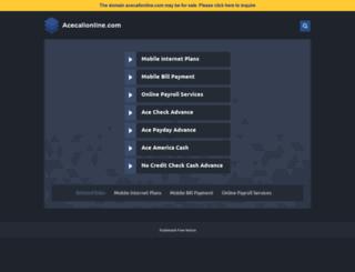 acecallonline.com screenshot