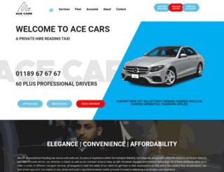 acecarsreading.co.uk screenshot