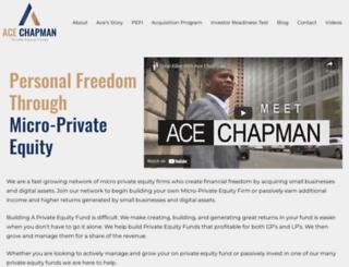 acechapman.com screenshot