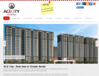 acecity.co.in screenshot