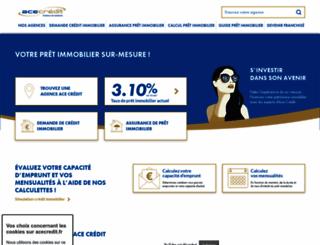 acecredit.fr screenshot