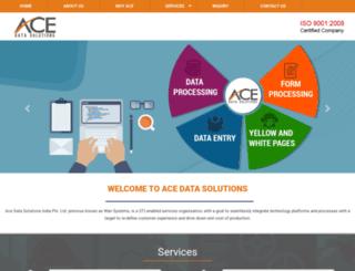 acedatasolutions.com screenshot