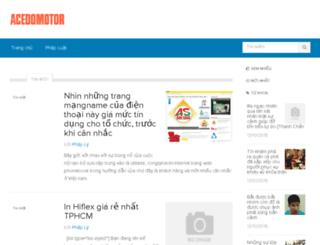 acedomotor.com screenshot