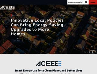 aceee.org screenshot